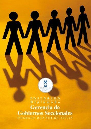 Gerencia de Gobiernos Seccionales - Universidad del Azuay