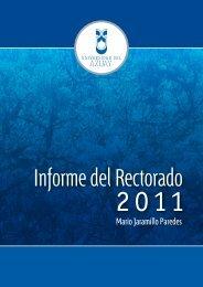 Informe de Labores 2011 - Universidad del Azuay