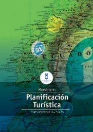 Maestría en Planificación Turística - Universidad del Azuay