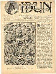 N:R 7 (738). LÖRDAGEN DEN 16 FEBRUARI 1901. 14:DE ÅRG ...