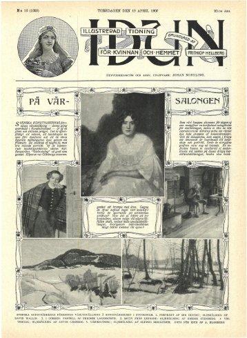 N:R 16 (1059) TORSDAGEN DEN 18 APRIL 1907