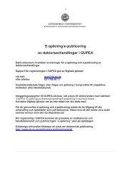 Instruktioner e-publicering avhandling