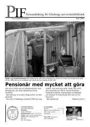 PIF juni 2003 - Göteborgs universitetsbibliotek