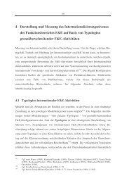 4 Darstellung und Messung des Internationalisierungsniveaus des ...