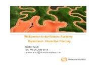 Datastream: Interactive Charting Willkommen in der Reuters Academy