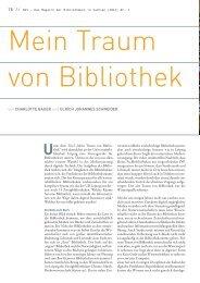 von CHARLOTTE BAUER und ULRICH JOHANNES SCHNEIDER