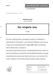 Der wingarte Jesu - Universitätsbibliothek Leipzig - Universität Leipzig