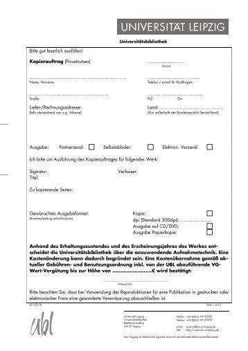 Kopierauftrag privat A4 2012neux - Universitätsbibliothek Leipzig ...