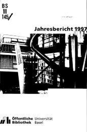 1997 - Universität Basel