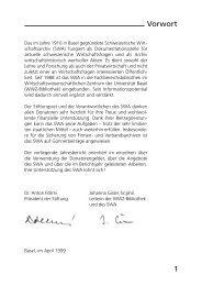 1998 (pdf) - Universitätsbibliothek Basel - Universität Basel