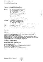 Protokoll der 28. Sitzung der Bibliothekskommission vom 12 ...