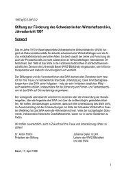 1997 (pdf) - Universitätsbibliothek Basel - Universität Basel