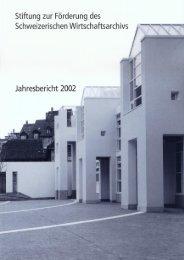 2002 (pdf) - Universitätsbibliothek Basel - Universität Basel