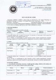 Hr. inregistrare - Universitatea Babes - Bolyai, Cluj - Napoca