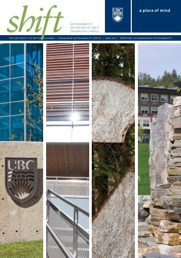 SuStainability Okanagan CampuS - University of British Columbia