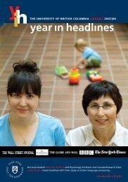 2007|08 - University of British Columbia