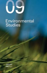 Environmental Studies - UBC Press