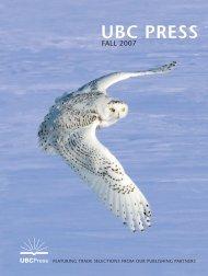 Vanishing British Columbia - UBC Press