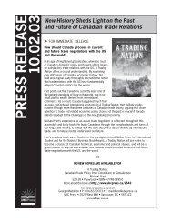 10.02.03 PRESS RELEASE - UBC Press