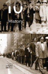 2010 History - UBC Press - University of British Columbia
