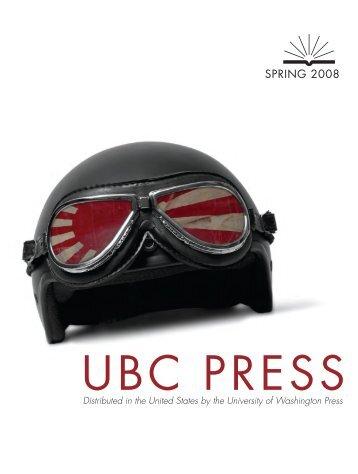 SPRING 2008 - UBC Press