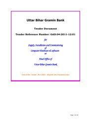 Koshi Kshetriya Gramin Bank - Uttar Bihar Gramin Bank