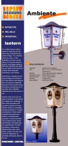 Page 1 Page 2 I EFFECTIVE I RELIABLE I INDIVIDUAL lantern Our ... - Page 2