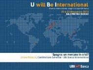 Spagna: un mercato in crisi? - UBI Banca