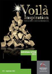 Voilà Inspiration - Weihnachten 2013 - Ubifrance