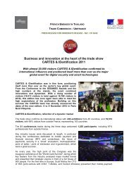 Business and innovation at the heart of the trade show CARTES ...