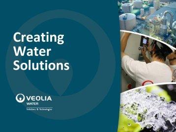 Veolia Water - UBIFRANCE