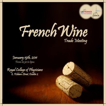Brochure - 4th French Wine Trade Meeting - 19th ... - UBIFRANCE