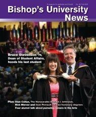 Fall 2010 - Bishop's University