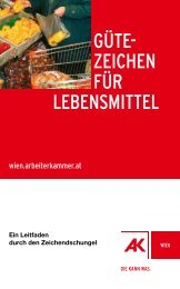 Gütezeichen für Lebensmittel - UBZ - Umwelt-Bildungs-Zentrum ...