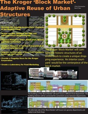 The Kroger 'Block Market'- Adaptive Reuse of Urban Structures