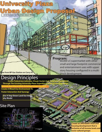 University Plaza Urban Design Proposal