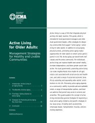 Active Living for Older Adults - National Association of Chronic ...