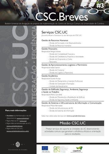 CSC.Breves - Universidade de Coimbra