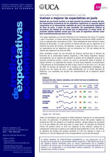 Acceda al informe - Universidad Católica Argentina