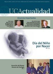 Día del Niño por Nacer - Universidad Católica Argentina