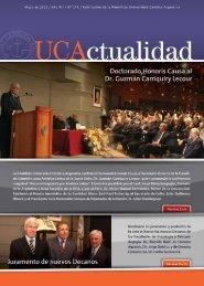 Número 145 Mayo 2012 - Universidad Católica Argentina