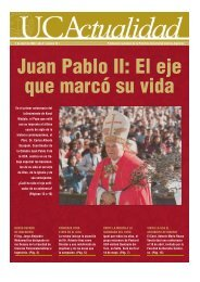 Juan Pablo II: El eje que marcó su vida - Universidad Católica ...