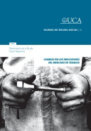 signos de deuda social   2 - Universidad Católica Argentina