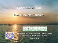 Sustenatibilidad - Universidad Católica Argentina