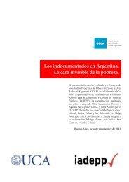 Los indocumentados en Argentina. La cara invisible de la pobreza.