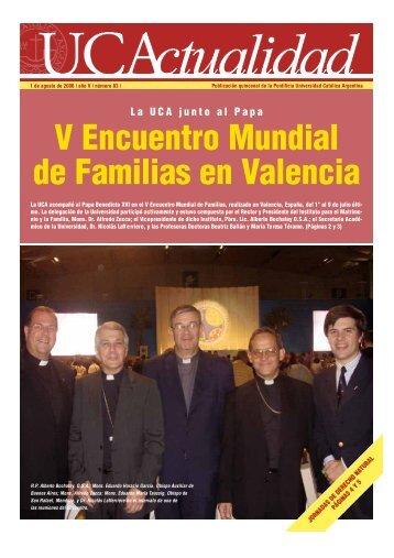 V Encuentro Mundial de Familias en Va l e n c i a - Universidad ...