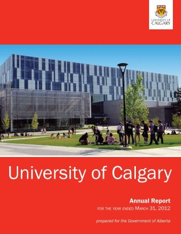Download the PDF - University of Calgary