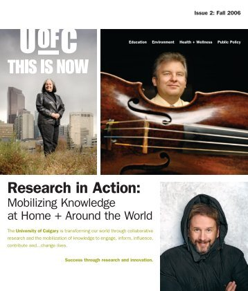 Research in Action: Public - University of Calgary