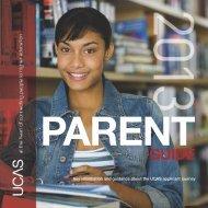 Parent guide 2013 entry - Ucas