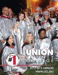 UCC Catalog - Union County College